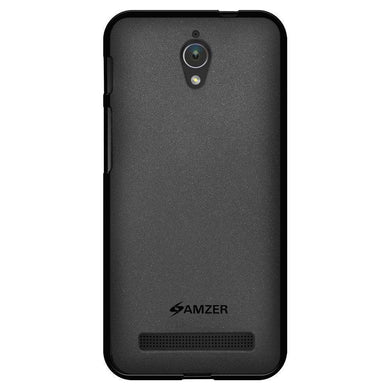 AMZER Pudding Soft TPU Skin Case for ASUS Zenfone C ZC451CG - Black - fommystore