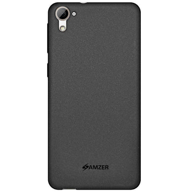 AMZER Pudding Soft TPU Skin Case for HTC Desire 826 - Black - fommystore