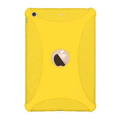 AMZER Shockproof Rugged Silicone Skin Jelly Case for Apple iPad mini 3 - Yellow - fommystore