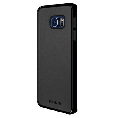 AMZER Pudding Soft TPU Skin Case for Samsung Galaxy S6 edge Plus - Black - fommystore
