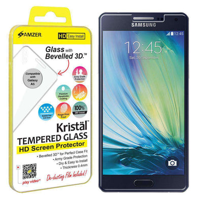 AMZER Kristal Tempered Glass HD Screen Protector for Samsung GALAXY A5 - fommystore