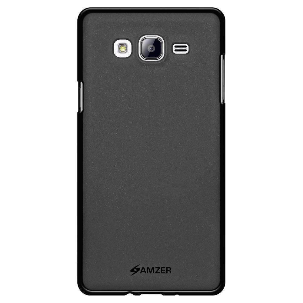 AMZER Pudding Soft TPU Skin Case for Samsung Galaxy On5 - Black - fommystore