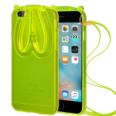 AMZER TPU Case With Rabbit Ears for iPhone 6 Plus - fommystore