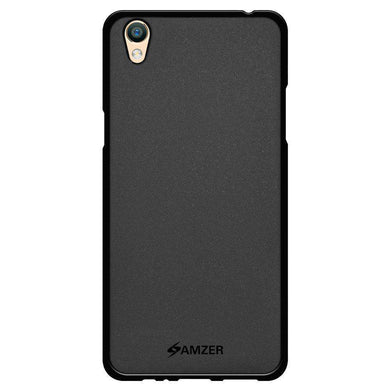 AMZER Pudding Soft TPU Skin Case for Oppo F1 Plus - Black - fommystore