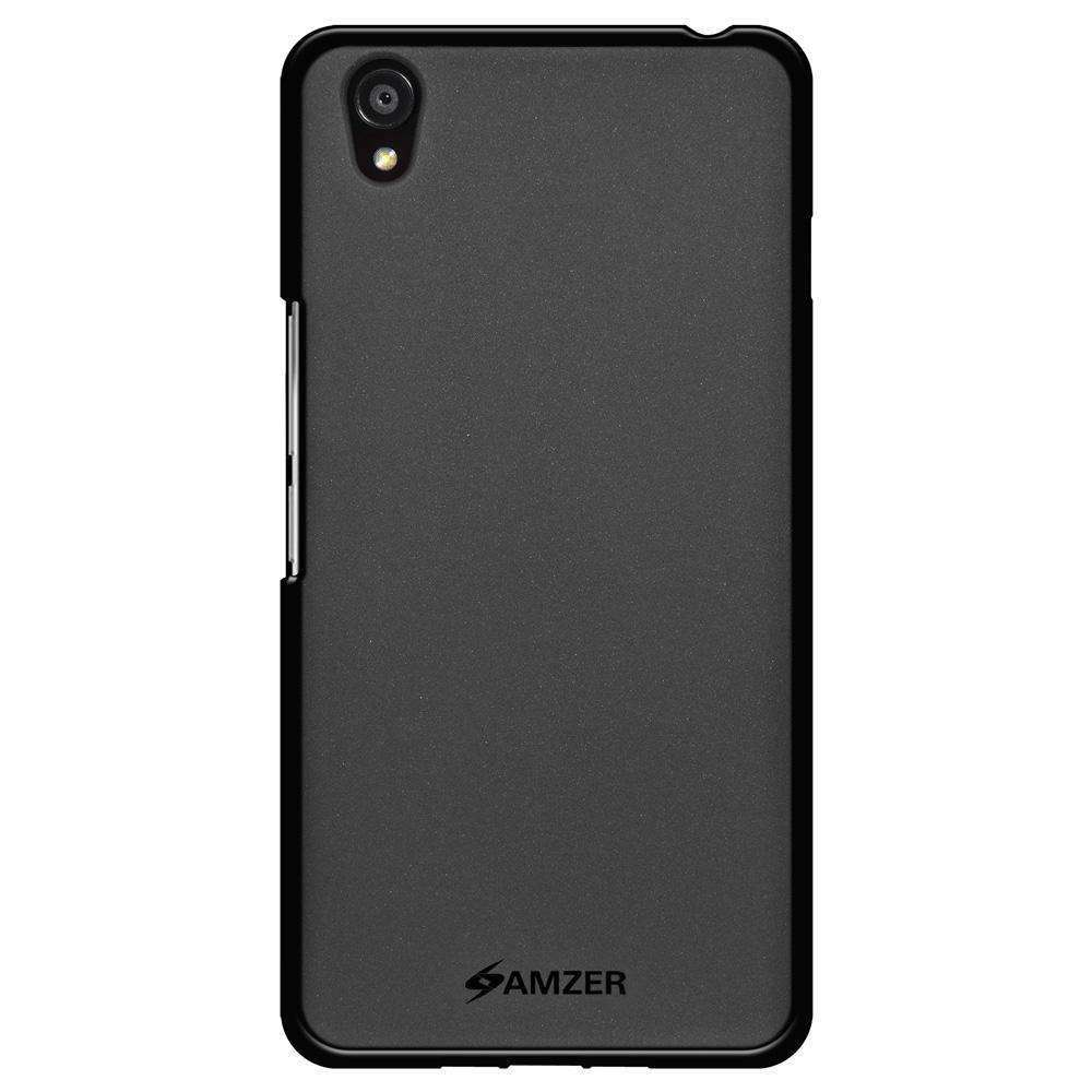 AMZER Pudding Soft TPU Skin Case for OnePlus X - Black - fommystore