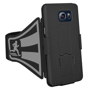 AMZER Shellster Armband for Samsung Galaxy Note 5 - Black - fommystore