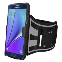 Load image into Gallery viewer, AMZER Shellster Armband for Samsung Galaxy Note 5 - Black - fommystore