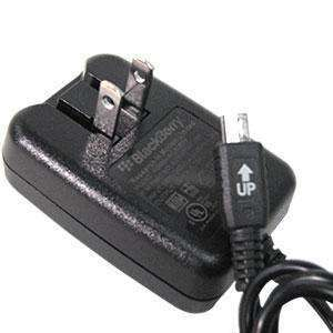RIM (OEM) BlackBerry Mini USB Compact Folding Travel Wall Charger - fommystore