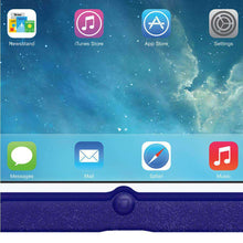 Load image into Gallery viewer, AMZER Shockproof Rugged Silicone Skin Jelly Case for Apple iPad mini - Blue - fommystore