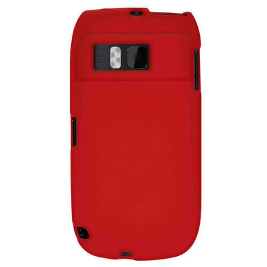 AMZER Silicone Skin Jelly Case for Nokia E6-00 - Red - fommystore