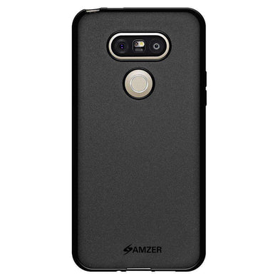 AMZER Pudding Soft TPU Skin Case for LG G5 - Black - fommystore