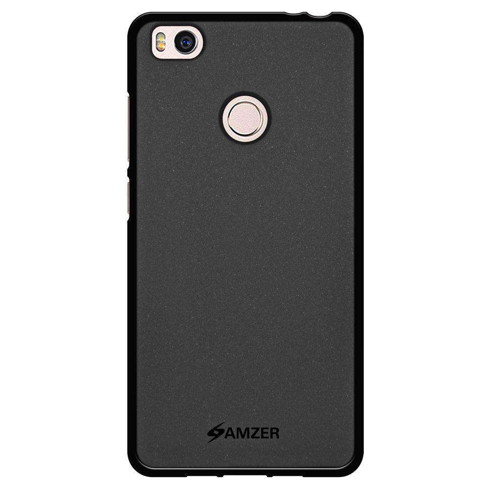 AMZER Pudding Soft TPU Skin Case for Xiaomi Mi 4s - Black - fommystore