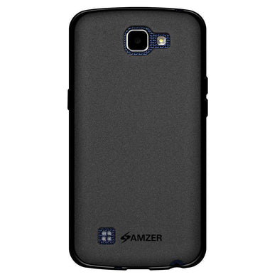 AMZER Pudding Soft TPU Skin Case for LG K4 - Black - fommystore