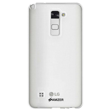 AMZER Pudding Soft TPU Skin Case for LG Stylo 2 LS775 - Clear - fommystore