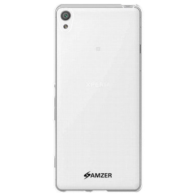 AMZER Pudding Soft TPU Skin Case for Sony Xperia XA - Clear - fommystore