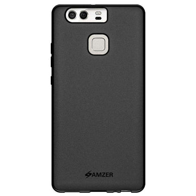 AMZER Pudding Soft TPU Skin Case for Huawei P9 - Black - fommystore