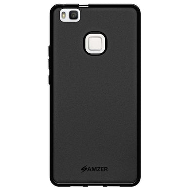 AMZER Pudding Soft TPU Skin Case for Huawei P9 Lite - Black - fommystore