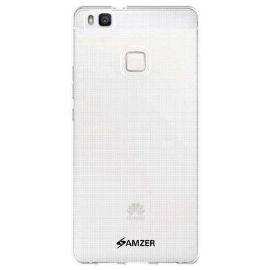 AMZER Pudding Soft TPU Skin Case for Huawei P9 Lite - Clear - fommystore