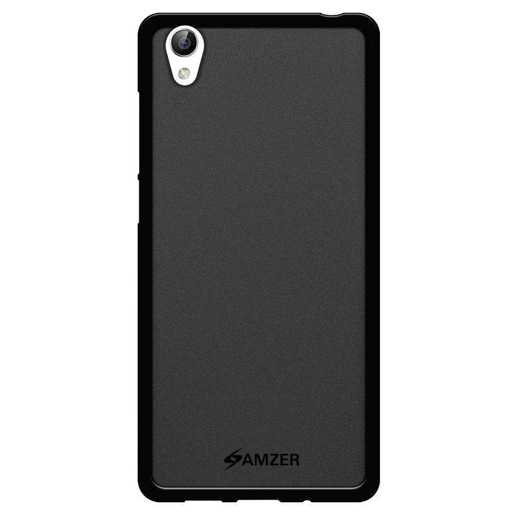 AMZER Pudding Soft TPU Skin Case for Vivo Y51 - Black - fommystore