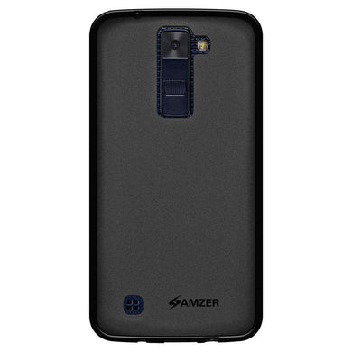 AMZER Pudding Soft TPU Skin Case LG Escape 3 K373 - Black for - fommystore