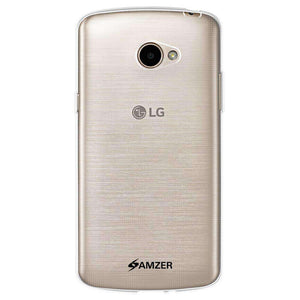 AMZER Pudding Soft TPU Skin Case for LG K5 - Clear - fommystore