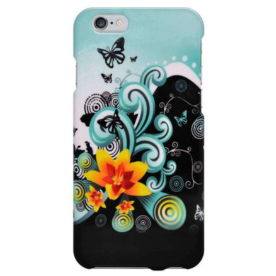 Polished Protector Case - Yellow Lily for iPhone 6 - fommystore