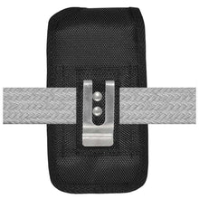 Load image into Gallery viewer, Oversized Heavy Duty Vertical Nylon Case with Belt Clip - Black