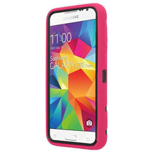 Load image into Gallery viewer, Premium Hip Vertical Hybrid Kickstand - Black/ Hot Pink for Samsung GALAXY Core Prime SM-G360 - fommystore