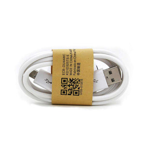 Micro USB 2.0 Cable Type A Male/ Micro-B Male 3 ft - White - fommystore