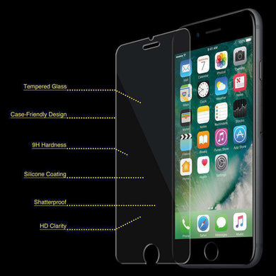 Premium Tempered Glass Screen Protector for iPhone 6 Plus - fommystore