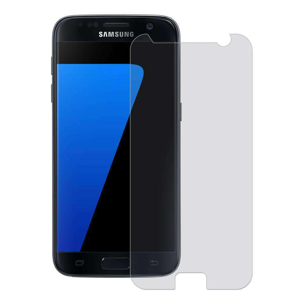 Premium Case Friendly Tempered Glass Screen Protector for Samsung GALAXY S7 - Clear - fommystore