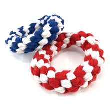 Load image into Gallery viewer, Braided Cotton Rope Training Biting Interactive Teeth Cleaning Chews Toy, Size: 10.5 x 3.0m, Random Color Delivery - fommystore