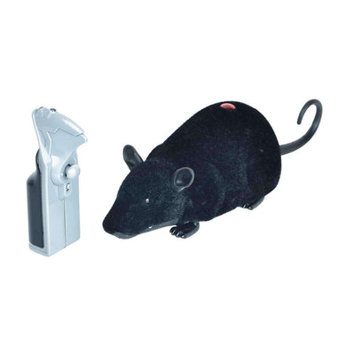 Remote Control Infrared Realistic RC Mouse Toy, Random Color Delivery - fommystore
