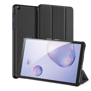 Samsung Galaxy Tab A 8.4 (2020) Texture Horizontal Flip PU Leather Case With 3-Fold Holder & Pen Slot