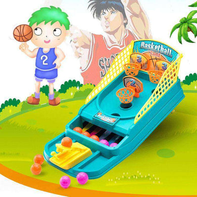 Sports Desktop Finger Shooting Crazy-shoot Hoop Mini Basketball Game Toy Gift - fommystore
