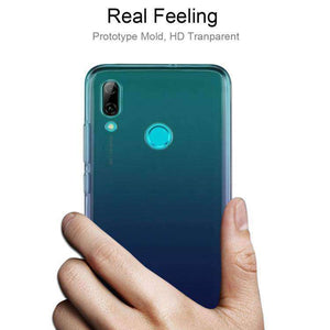 AMZER Ultra Slim Clear TPU Soft Protective Case for Huawei P Smart 2019/ Honor 10 Lite - Clear - fommystore