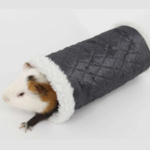 Winter Warm Snowflake Pattern Cotton Nest Single Channel, Hedgehog Spider Hamster Warm Tunnel Toy, Random Color Delivery - fommystore