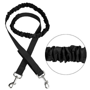 Retractable Pet 4 Pieces Set Dog Running Traction Waist Bag Dog Lead Non-Slip Pet Traction Rope, Rope Length: 144cm, Waist: 78-100cm - fommystore