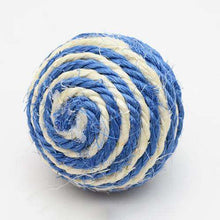 Load image into Gallery viewer, Funny Toys Natural Sisal Ball Interesting Cat Toys, Random Color Delivery - fommystore