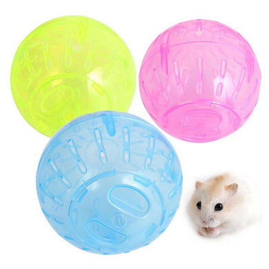 Pet Small Toy Hamster Running Ball, Random Color Delivery, Size: Diameter: 10cm - fommystore