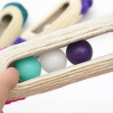 Load image into Gallery viewer, Cat Scratch Board Training Toy Pet Supplies Cat Rack Rolling Sisal Scratching Trapped Ball with Three Balls, Random Color Delivery - fommystore