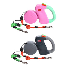 Load image into Gallery viewer, Two-headed Creative Automatic Retractable Pet Traction Rope - fommystore