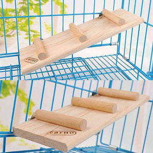 Pet Wood Toys Hamster Slide Ladder Stairs Toys for Small Pet - fommystore