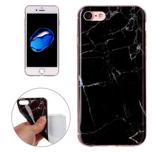Marble IMD Soft Shockproof TPU Protective Case for iPhone 7, iPhone SE 2020