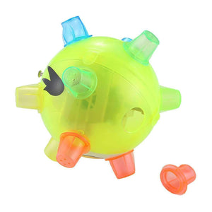 3 PCS Funny Flashing Bouncing Ball LED Light Dancing Music Ball Toys, Random Color Delivery - fommystore
