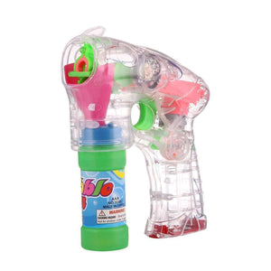 Electric Transparent Toy Bubble Gun, Bubble Liquid Not Included - fommystore