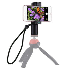 Load image into Gallery viewer, Live Broadcast Handheld Grip Selfie Rig Stabilizer ABS Tripod Adapter Mount with Cold Shoe Base & Wrist Strap, For iPhone, Galaxy, Huawei, Xiaomi, Sony, HTC, Google and other Smartphones - fommystore