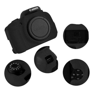 AMZER Soft Silicone Protective Case for Canon EOS 650D / 700D - fommystore