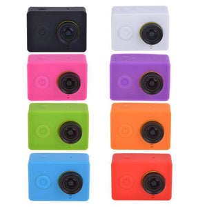 AMZER Silicone Gel Protective Case for Xiaomi Yi Sport Camera - Orange - fommystore