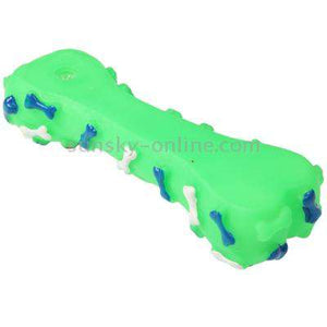 Bone Shape Plastic Pet Toys with Whistle for Dogs / Cats, Random Color Delivery - fommystore